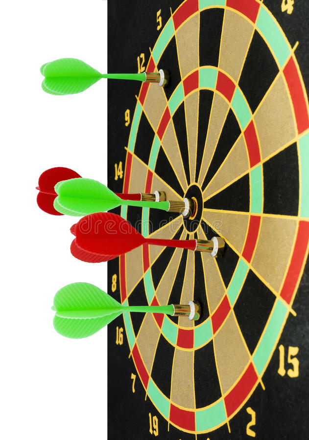 Target for darts stock image
