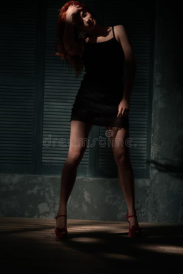 target496_0_ elegancka kobieta fotografia stock