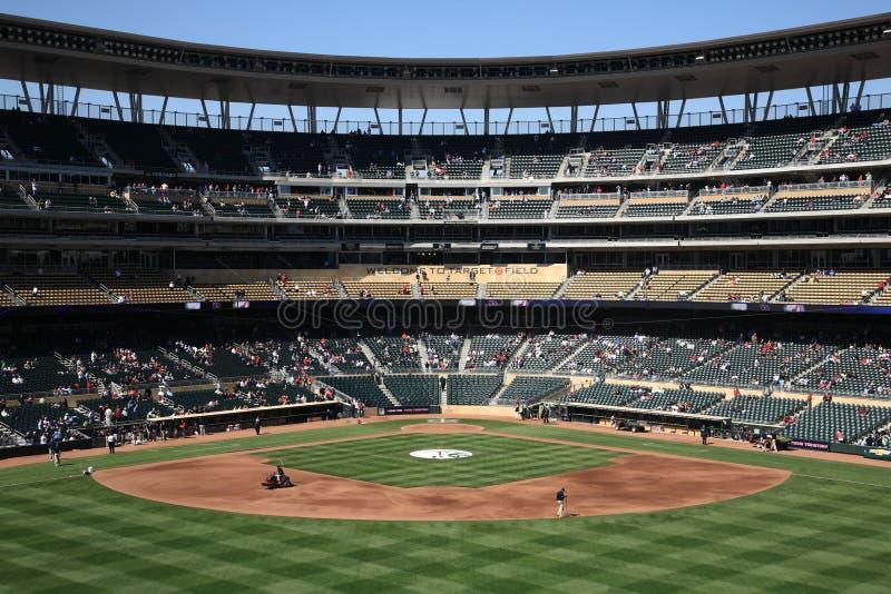 Target Field - Minnesota Twins stock photo