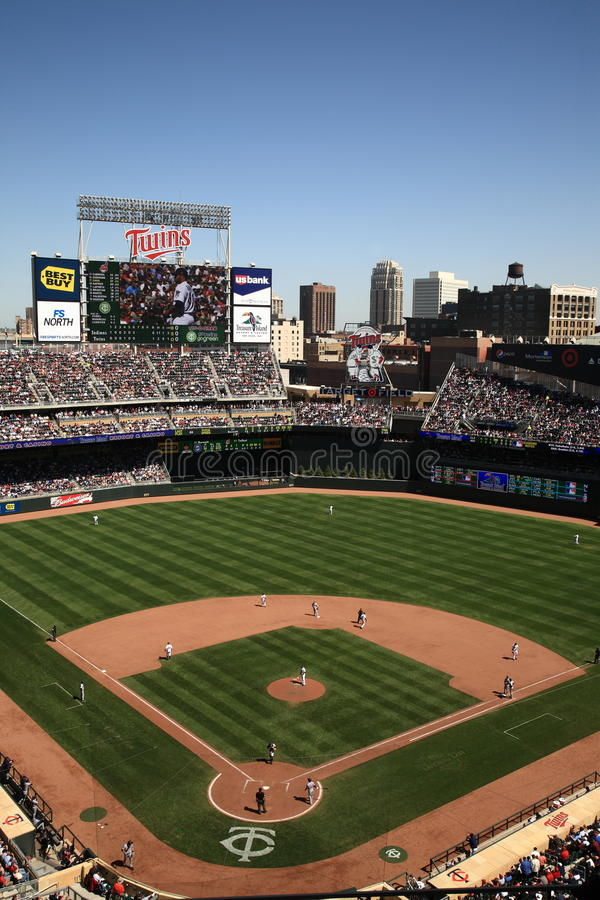 Target Field - Minnesota Twins stock images