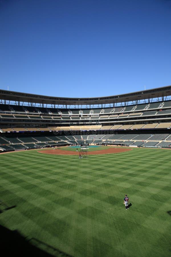 Target Field - Minnesota Twins royalty free stock image
