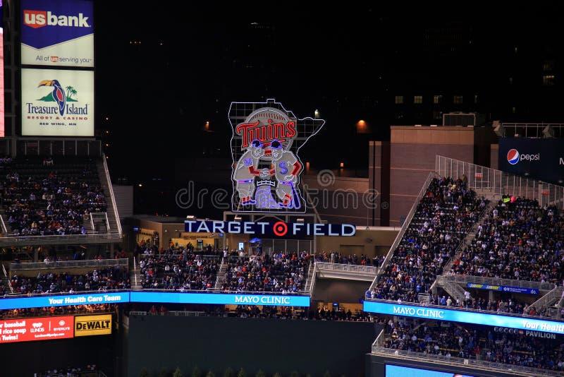 Download Target Field - Minnesota Twins Editorial Stock Photo - Image: 18682893