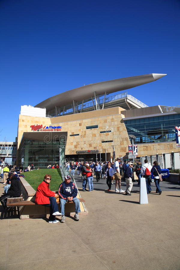 Free Target Field - Minnesota Twins Stock Photography - 18708892