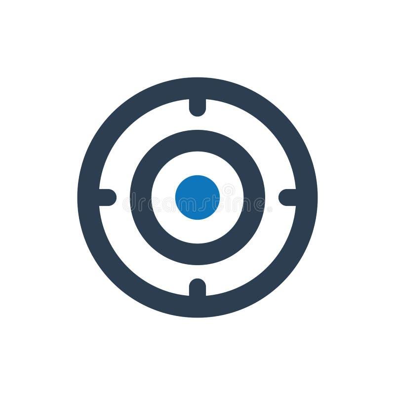 Target, Focus Icon vector illustration