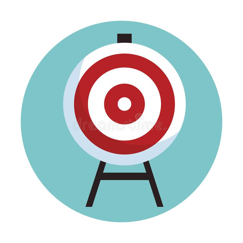 Target goal business. Vector illustration graphic design vector illustration