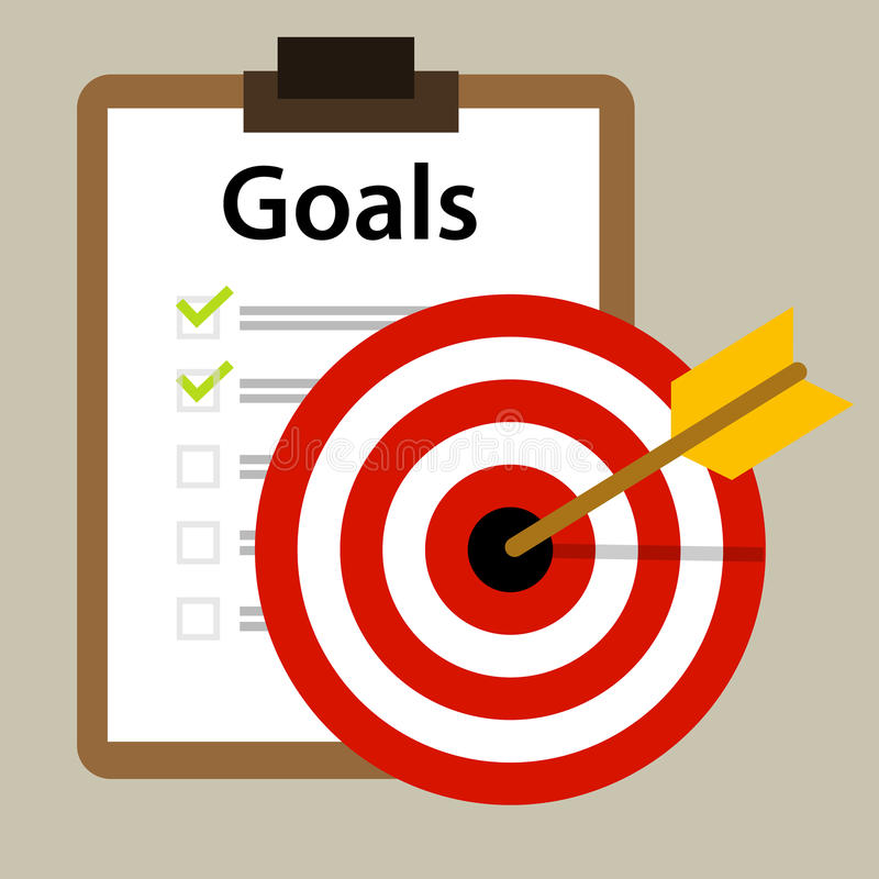 Target goals vector icon success business strategy concept vector illustration