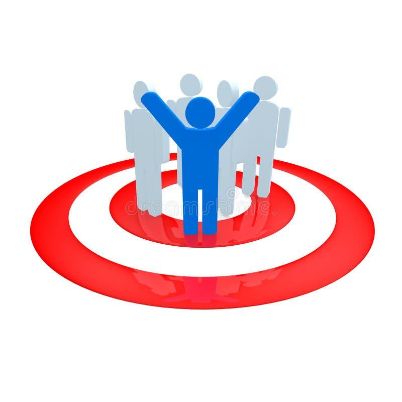Download Target group stock illustration. Image of illustration - 31502143