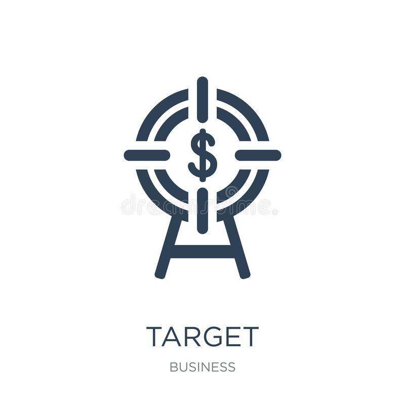 target icon in trendy design style. target icon isolated on white background. target vector icon simple and modern flat symbol for royalty free illustration