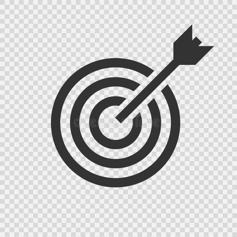Target icon . Vector vector illustration