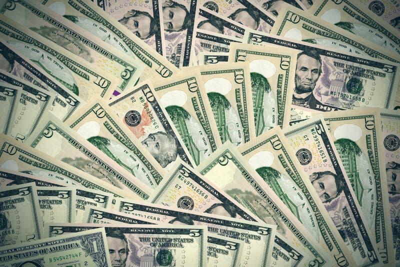 target946_1_ incl dolarową ścieżkę tło banknoty ilustracja wektor