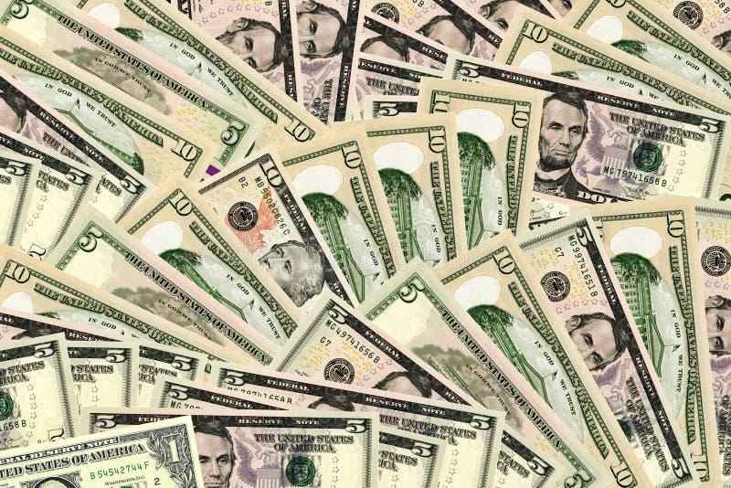 target946_1_ incl dolarową ścieżkę tło banknoty royalty ilustracja