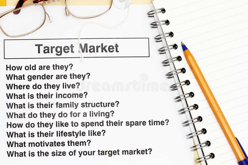 Download Target Market stock image. Image of quality, objectives - 12882569