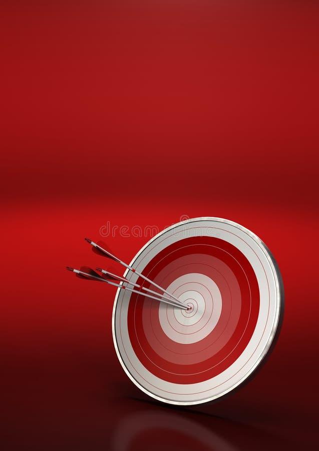 Target market concept royalty free illustration