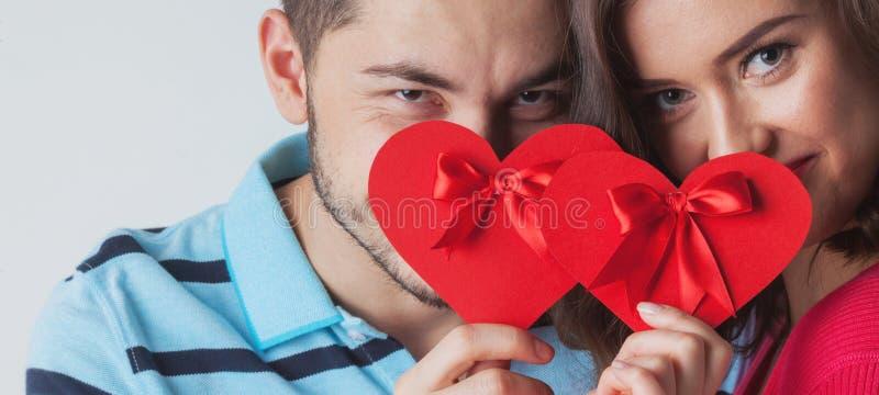 target2409_1_ pary dzień valentine potomstwa obrazy stock