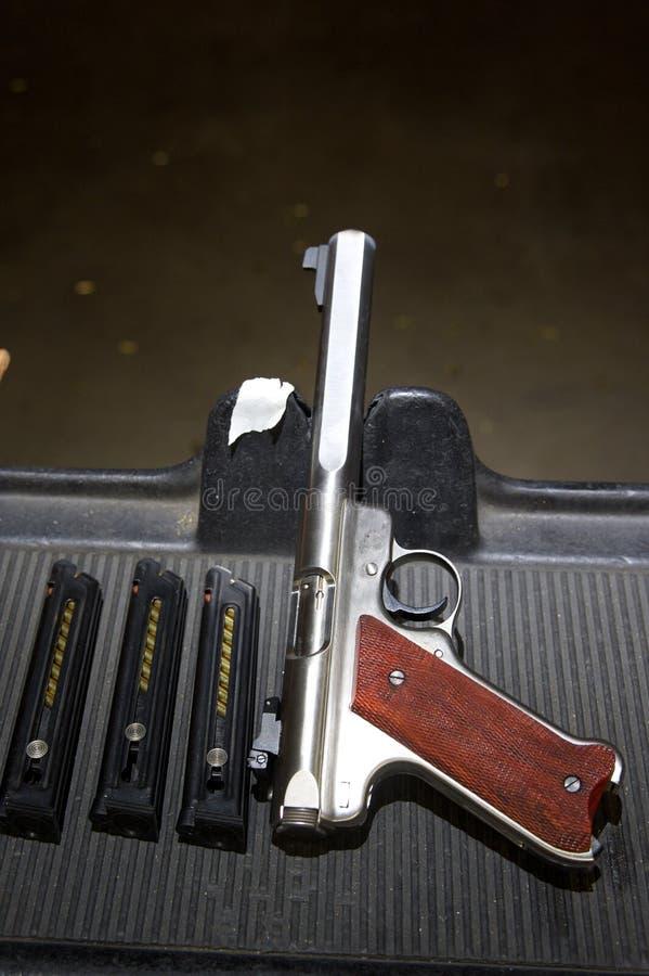 Target Pistol Royalty Free Stock Photo