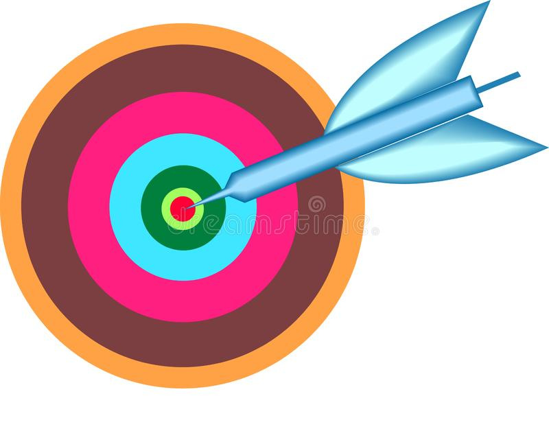 Target point royalty free stock photography