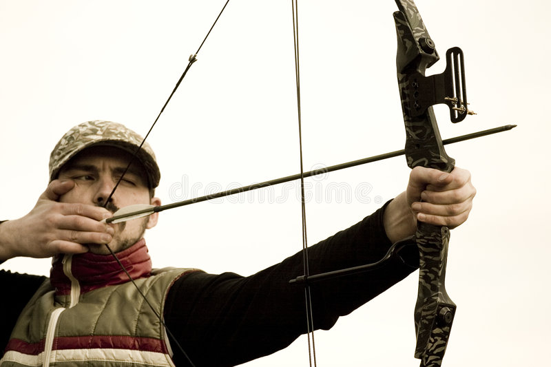 Target practice stock photography