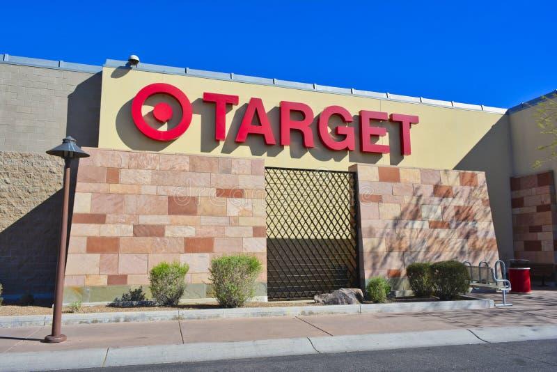 Target store sign on outside of building - Scottsdale, Arizona USA stock image