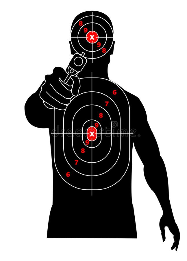 photo regarding Printable Silhouette Targets known as Taking pictures Silhouette Focus Inventory Examples 1,936