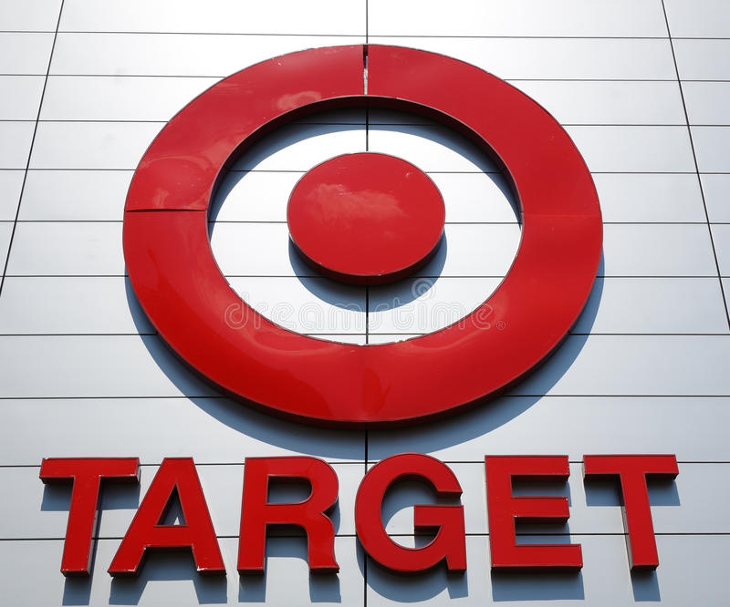 Download Target Sign editorial photo. Image of store, signs, logo - 21178701