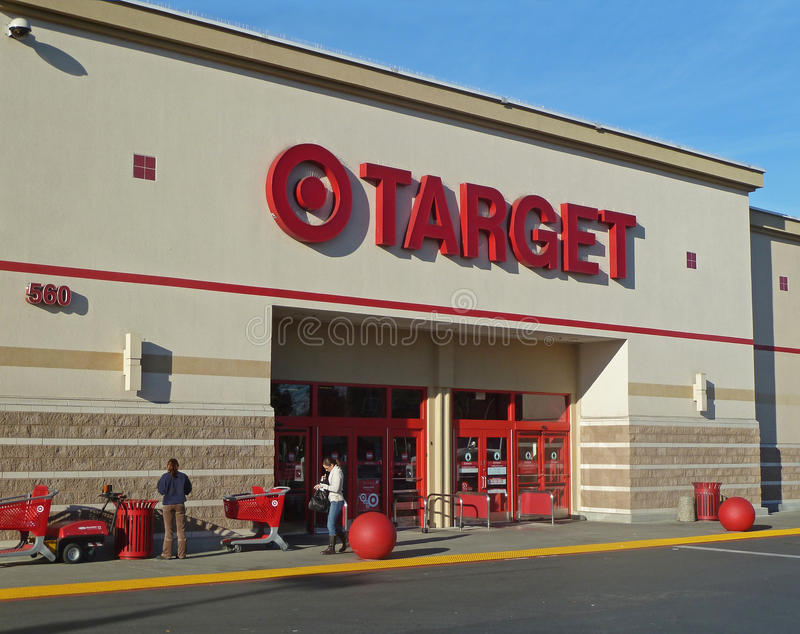 Download Target store entrance editorial stock photo. Image of editorial - 22657603
