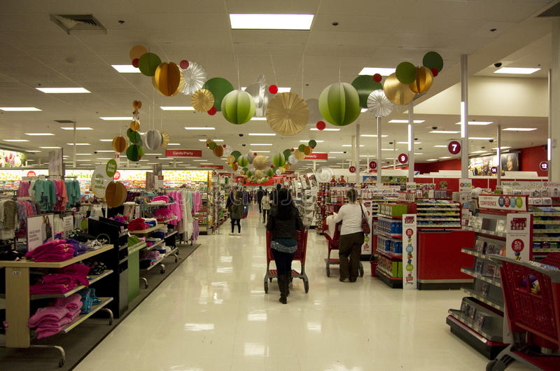 Target Superstore Holiday Decoration Christmas Shopping ...