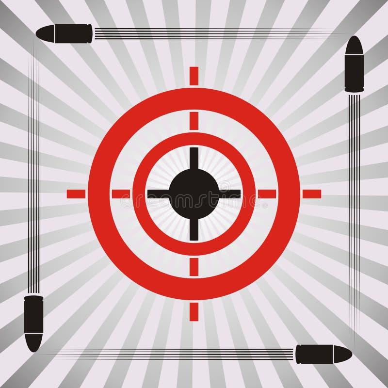 Target symbol stock illustration