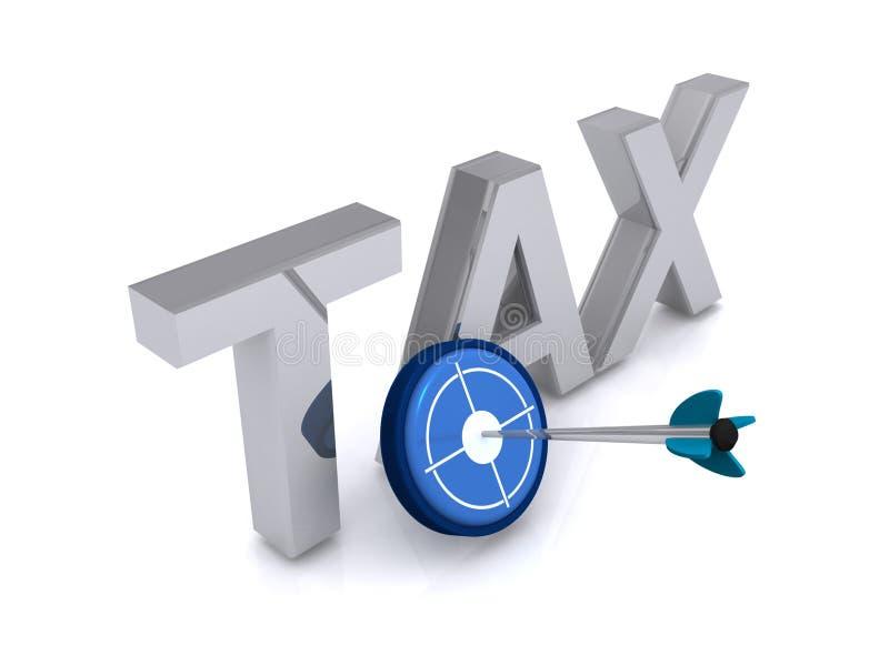 Download Target tax stock illustration. Illustration of take, target - 42187571