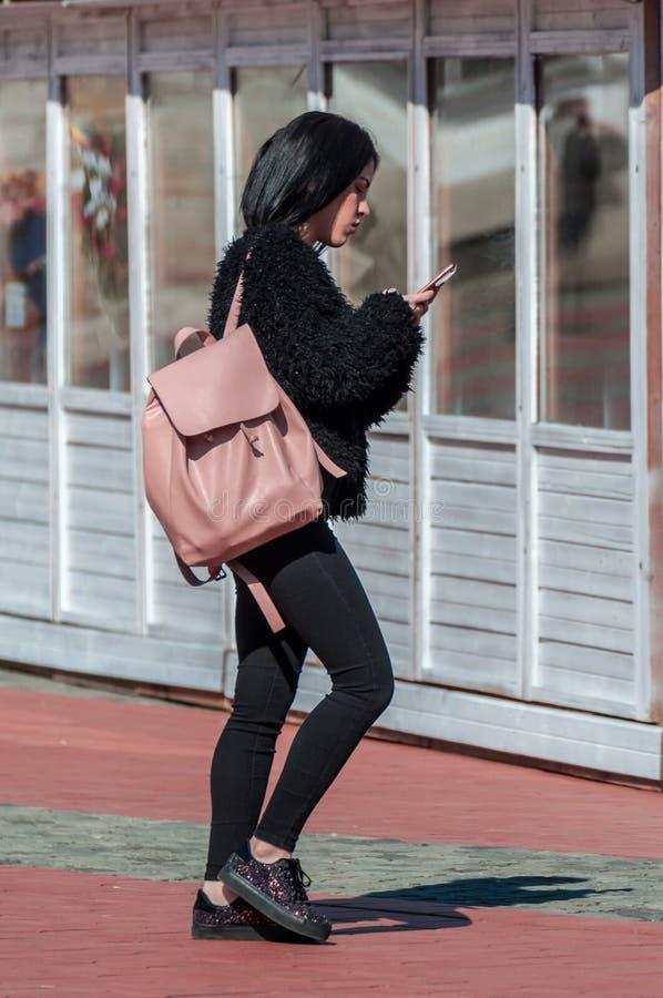 target232_0_ telefon jej kobieta zdjęcia stock
