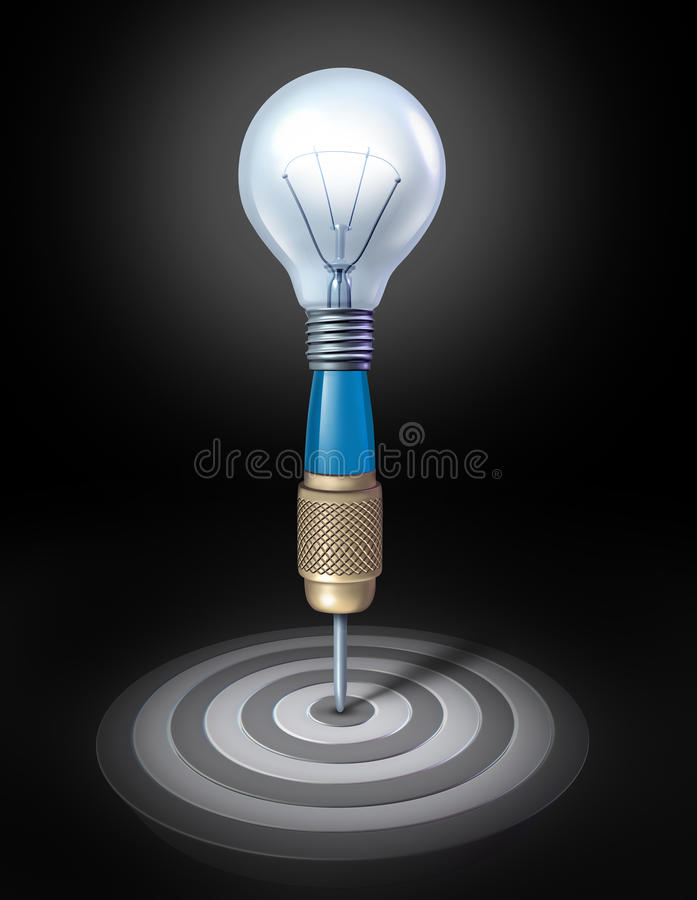 Target Thinking Stock Images
