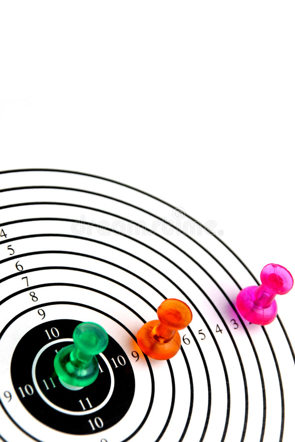 Download Target with three pins stock photo. Image of fortune, play - 1935428
