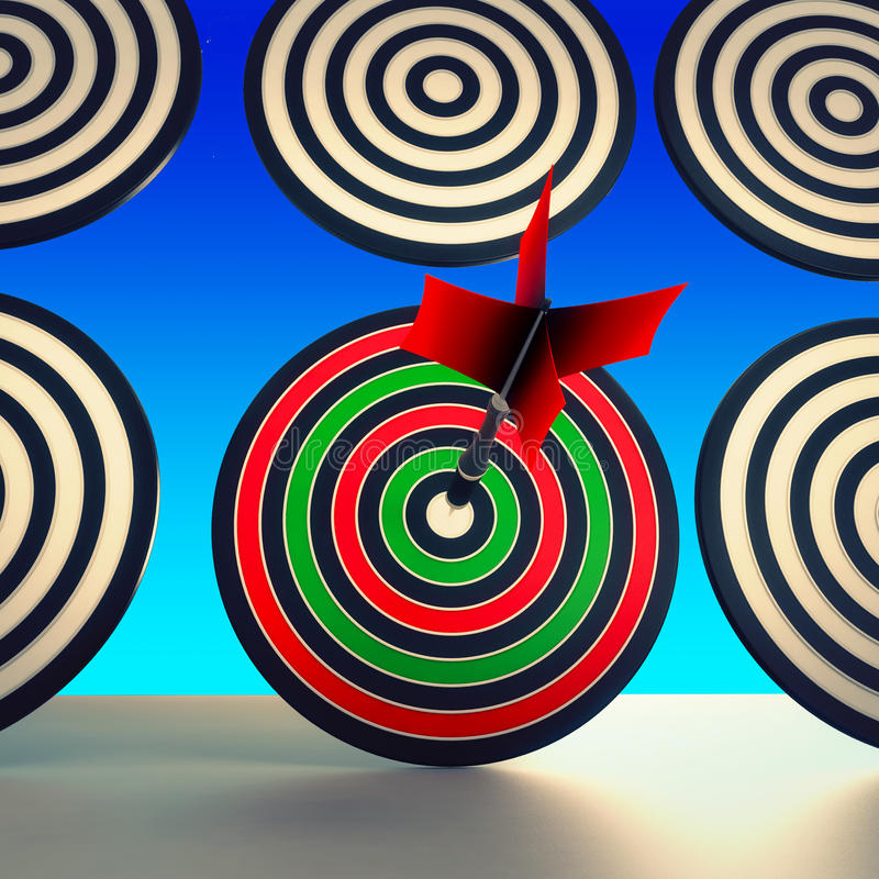 Target Winner Shows Skill, Performance And Accuracy