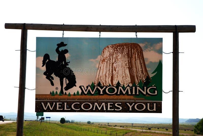 target606_0_ Wyoming zdjęcie stock