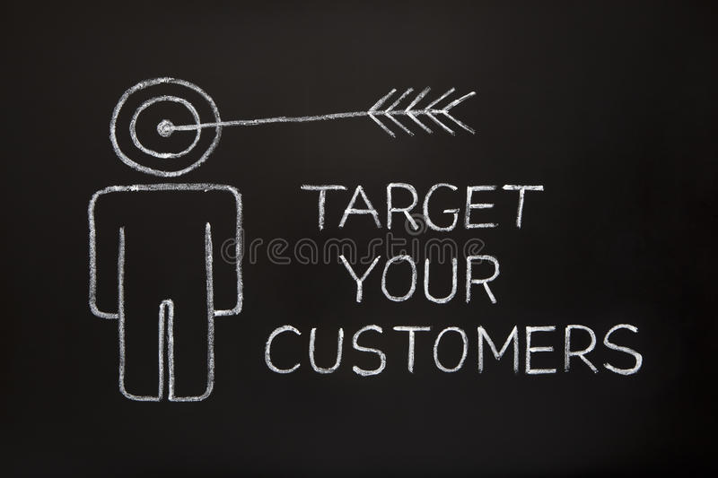 Download Target your customers stock image. Image of service, bull - 20434419