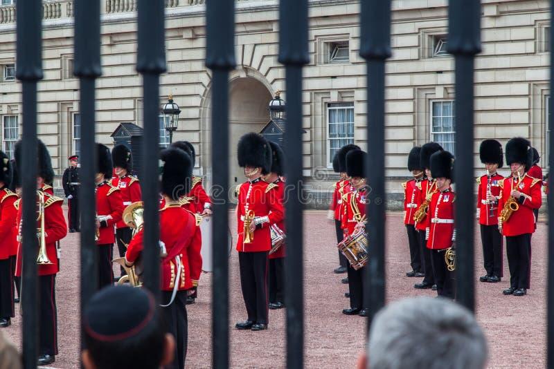 TARGET0_1_ Strażowy Londyn obrazy royalty free