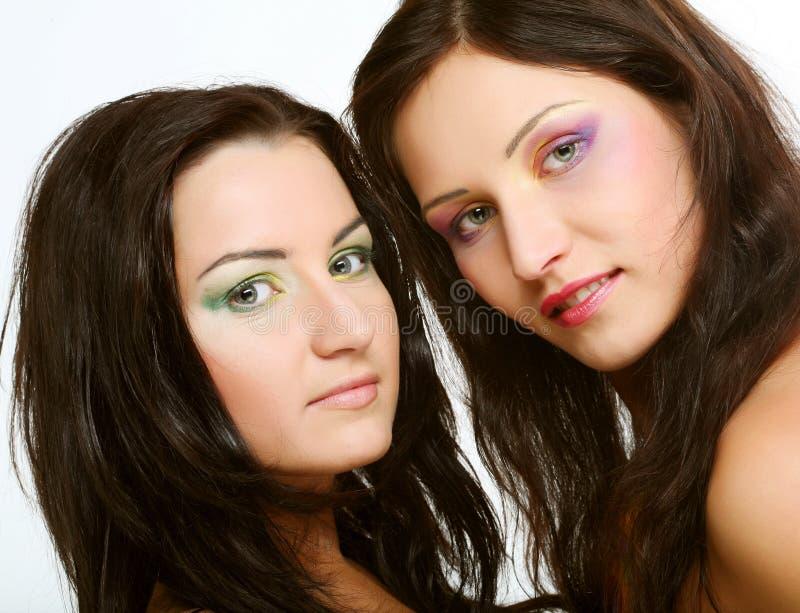 target108_0_ wpólnie dwa przyjaciel dziewczyna zdjęcia royalty free