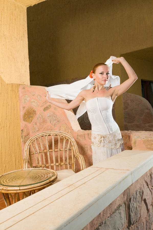 target1105_0_ kobiety piękny flamenco fotografia royalty free