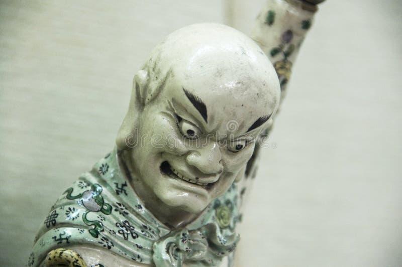 target1233_0_ orientalną porcelanę puszek postać obrazy stock
