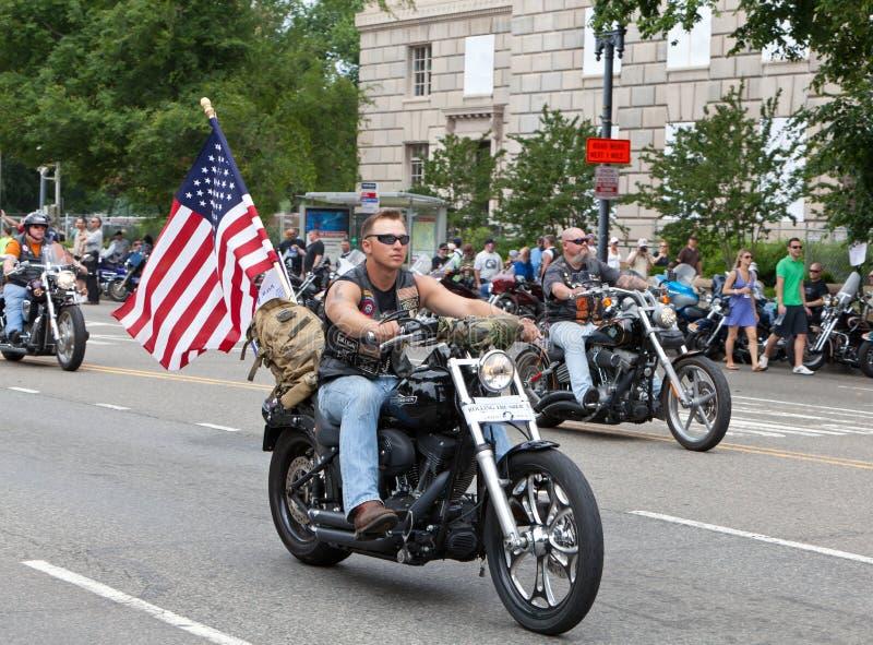 target1302_1_ grzmot Dc motocykle Washington zdjęcie royalty free