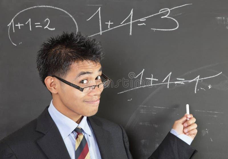 target1315_0_ nauczyciela błąd matematyka zdjęcia royalty free