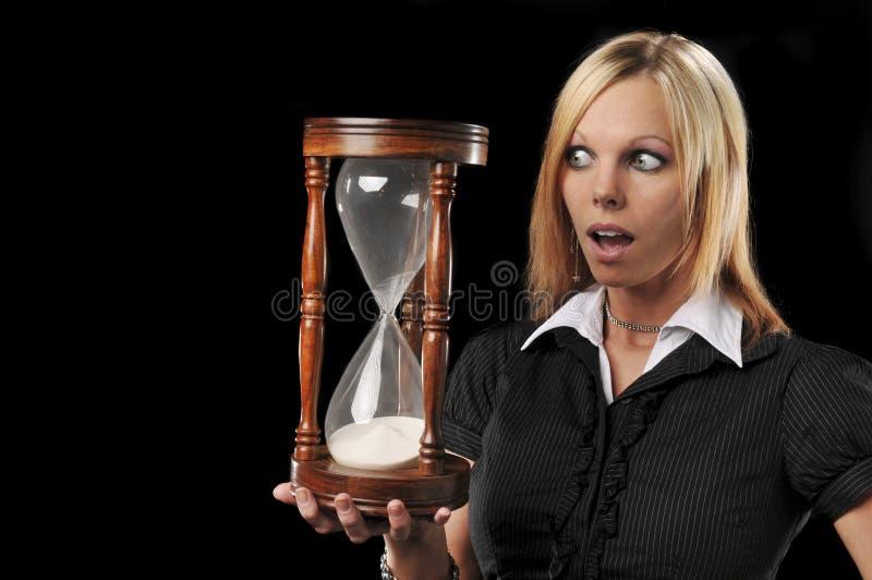target1368_1_ piaska zegaru kobiety zdjęcie stock