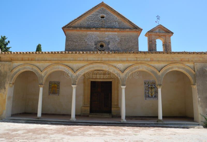 TARGET148_1_ w monasterze zdjęcia royalty free