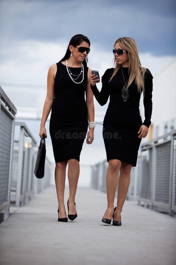 target1511_1_ bizneswomanu atrakcyjny latynos dwa zdjęcia royalty free