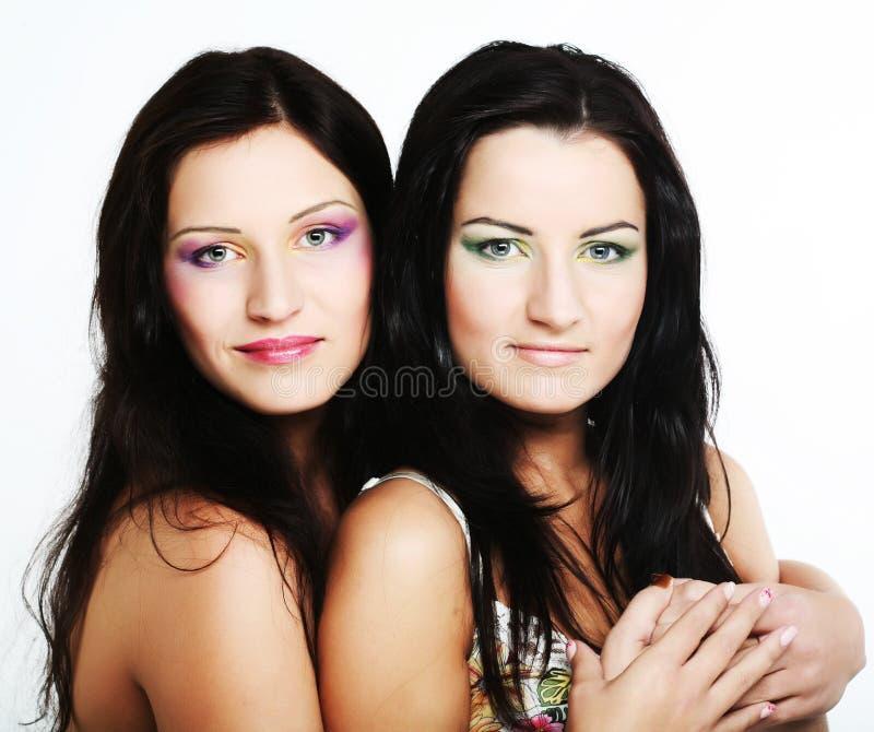target1663_0_ wpólnie dwa przyjaciel dziewczyna obraz royalty free