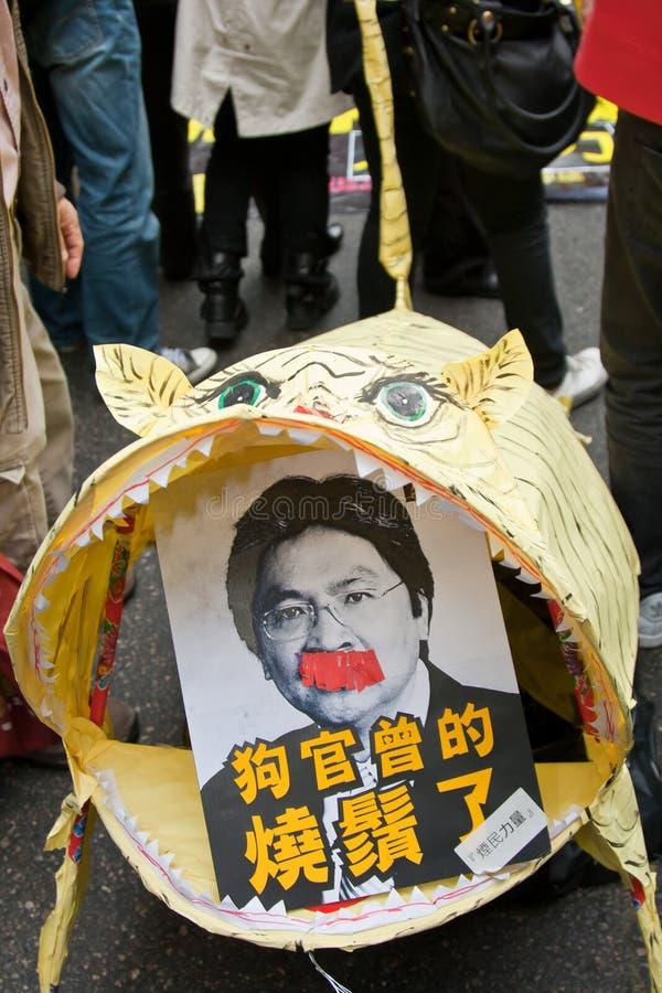 target172_1_ sekretarka pieniężnego papierowego tygrysa obrazy royalty free