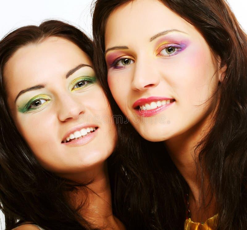 target1743_0_ wpólnie dwa przyjaciel dziewczyna zdjęcia royalty free