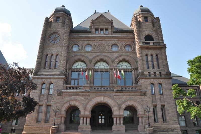 target1822_1_ prawodawczy Ontario obraz stock