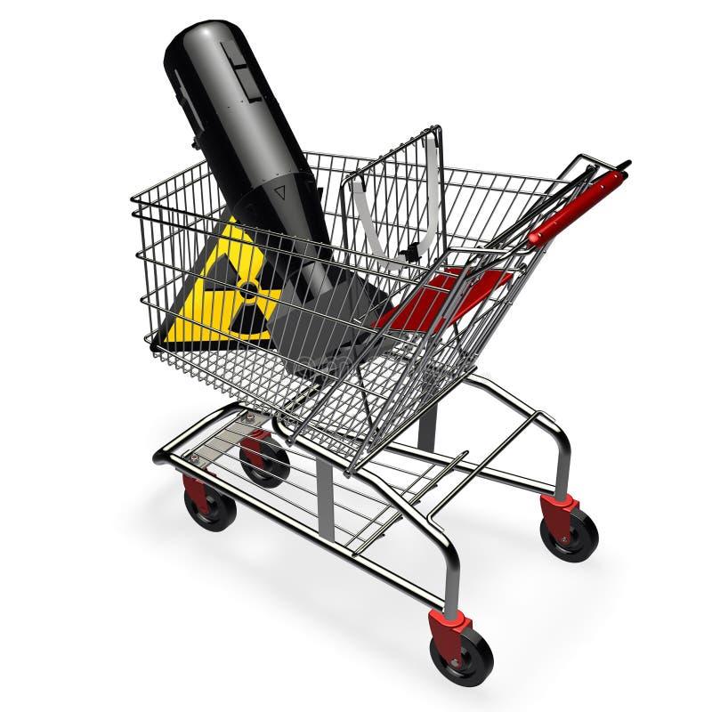 target1860_1_ jądrowa broń royalty ilustracja