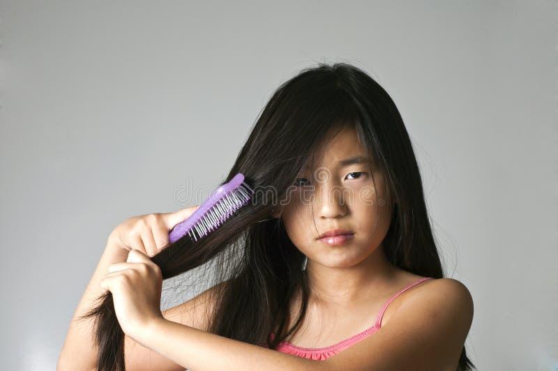 target1912_0_ włosy obrazy stock
