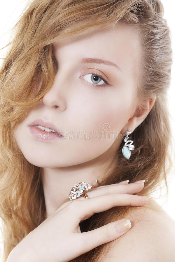 target2_0_ kobiety piękna biżuteria fotografia royalty free